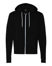 New Canvas - Unisex Full-Zip Hooded Sweatshirt Mens Womens Hoodie XS-2XL 3739