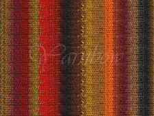 NORO ::Kureyon #263:: wool knitting yarn Red-Wine-Brown-Mustard-Green