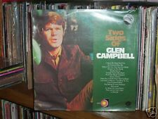 "TWO SIDES OF GLEN CAMPBELL - AUSTRALIAN LP RECORD 12"" 33/3"