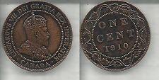 CANADA 1 CENT 1910  EDOARDO VII qSPL