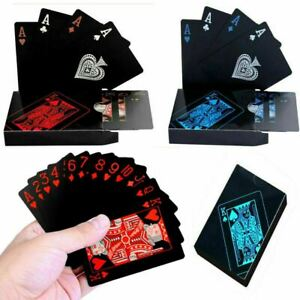 Playing Cards Waterproof Plastic Deck of PVC Poker Card Creative Party Game Gift