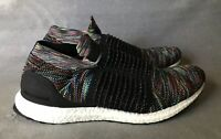 (SIZE Men's 11.5) Adidas Ultraboost Laceless Multicolor Running Slip On B37687