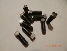 "SQUARE HEAD SET SCREWS  3/8-16 x 1""  CUP POINT 10 PCS. NEW"