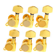 Inline Guitar String Tuning Peg Machine Head Squire Head Gold 6 Left-handed