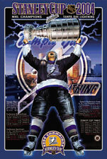 Tampa Bay Lightning STANLEY CUP 2004 Official NHL Hockey Commemorative Poster
