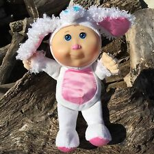 Cpk Cabbage Patch Cuties Plush Lamb Mignons Baby Doll White Pink Kids 10 Inches