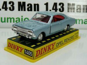 DT17 Voiture réédition DINKY TOYS atlas : 1405 Opel Rekord Coupé 1900