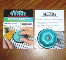 Save Fingers with GRINDER COOKIE holds glass during grinding EXTENDS Bit Life