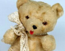 Vintage Knickerbocker Bear Plush Kuddles Musical Teddy Wind Up Music Box Stuffed
