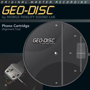 Mobile Fidelity MFSL Geo Disc Einstellschablone für Tonabnehmer Mofi