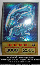 Yu-Gi-Oh! Holographic ORICA | BLUE-EYES WHITE DRAGON (Anime / Ultra Rare)