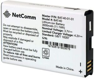 NEW OEM NETCOMM BAT-40 OEM AT&T IFWA-40  BATTERY LITHIUM-ION 3000mAh 3.7V