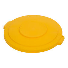 Carlisle 34103304 Lid for 32-Gallon Bronco Waste Container - Yellow