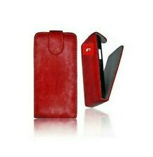 Cover Case Leatherette Samsung Galaxy S3 i9300 Red For Flap Shell