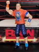 WWE Elite 60 John Cena Never Give Up Orange Wrestling Action Figure Kid Toy