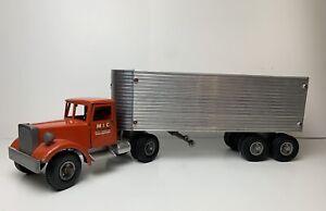 Vintage SMITH MILLER MIC MILLER IRONSON CORP CALIFORNIA Semi Truck & Trailer