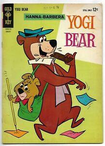 Yogi Bear #15 Gold Key Comics 1964 VG+