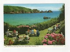 The Peastacks & Jerbourg Point From Moulin Huet Guernsey 1969 Postcard 353a