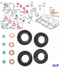 Peugeot Citroen Fiat Ford 2.2 2.4 Carburant TDCI Joint Injecteur + Lave + Oring