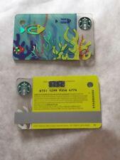 Starbucks Carte Cadeau GIFT CARD France Sea Fish Poisson