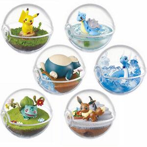 Pokemon Terrarium Collection 1 Pokeball Full Set by Re-ment