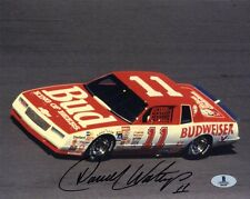 DARRELL WALTRIP SIGNED AUTOGRAPHED 8x10 PHOTO NASCAR LEGEND BECKETT BAS