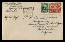 Dr Who 1945 Australia Sydney Airmail To Usa C219523