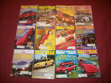 1993 ROAD & TRACK MAGAZINES COMPLETE YEAR / 12 ISSUES / CAMARO / VIPER GTA COUPE