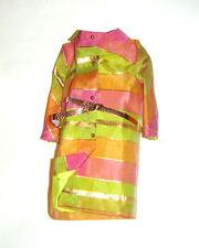 Barbie Reproduction Fashion Metallic Woven Coat For Barbie Dolls fn760