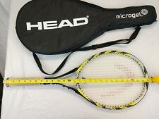 """Head Microgel Extreme Team Oversize Tennis Racket & Cover (270g, 4 1/4"""" Grip)"""