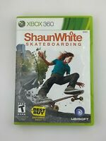 Shaun White Skateboarding - Xbox 360 Game - Complete & Tested