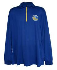 Golden State Warriors Men's X-Large 1/4 Zip Pullover Shirt - Team Colors