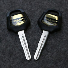 Motorcycle Ignition Blank Key Uncut Fit For Honda Goldwing GL1800 2001-2018