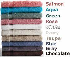 "Salbakos Turkish Cotton Luxury Hotel & Spa 13""x13"" Dozen Washcloths, Pick Color"