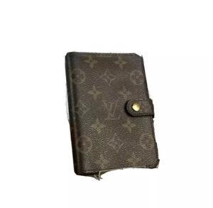 Louis Vuitton LV Monogram Agenda PM R20005 used OR 6-60-F13 4100
