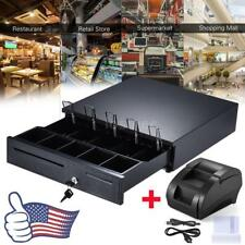 Cash Drawer Register Insert Tray Money 5Bill 5Coin Cashier Tidy Storage Box J4Z4