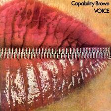 """Capability Brown: """"voice"""" (package numérique-CD)"""