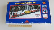 SOLDIER BEAR CHRISTMAS TRAIN SET COMPLETE WITH TRACK Never Used