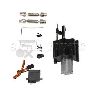 RC Car Dual Speed Gearbox Replacement for WPL 370 & Shift Servo Drive Shaft