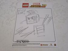 Lego Fan Expo 2017 WB EB Games Marvel Super Heroes 2 Sketch Battle Hulk Official