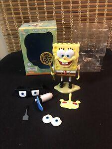 Spongebob Squarepants Make-A-Bob Toy Vault 2002 W/ Box