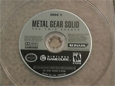 METAL GEAR SOLID THE TWIN SNAKES DISC 1 NINTENDO GAMECUBE GAME DISC ONLY