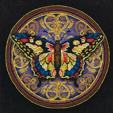 Ornate Butterfly Petite Gold Collection Counted Cross Stitch Kit Dimensions NEW