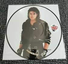 MICHAEL JACKSON BAD 25TH ANNIVERSARY PICTURE DISC (NEVER PLAYED)