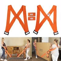 Lifting Moving Shoulder Strap Lift Aid Tool Heavy Furniture Appliance Holder