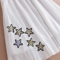 12pcs 3D Star Embroidery Patches Sticker Iron On Sew Cloth Patch DIY Patches