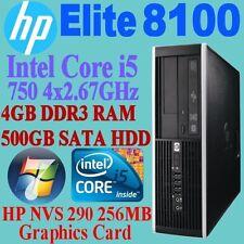 Windows 7 Intel Core i5 1st Gen. Desktop & All-In-One PCs