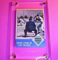 1963 Topps #147 Billy Pierce Stars In 3-Hit Victory World Series Game #6 EX