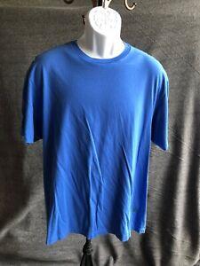 Mens Sz XL Cremieux Short Sleeve T-Shirt Blue Sz XL