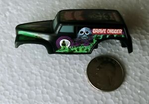 HO Slot Car MONSTER TRUCK GRAVE DIGGER Body MAKE IT FIT ! Aurora AFX TOMY TYCO